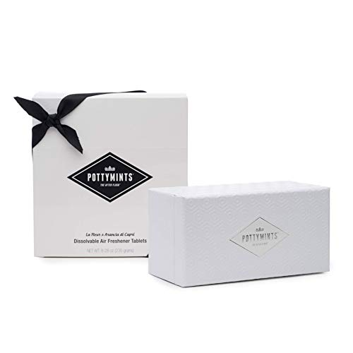 PottyMints Gift Box Set White Embossed Display Box Set w/ 54 Mints by PottyMints