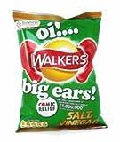 Walkers Salt and Vinegar Crisps - 1.2 oz - 6 Pack
