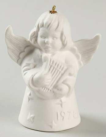 Goebel ** 1978 Annual Angel Bell - White ** 1978W