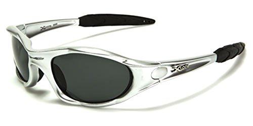 (Polarized Xloop Sport Cycling Fishing Golf Wrap Around Running Sunglasses + Monogram Microfiber Pouch)
