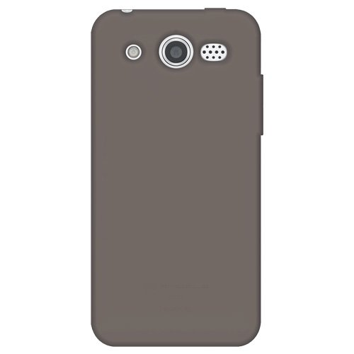 M886 Silicone (Amzer AMZ93110 Silicone Skin Jelly Cover Protector Case for Huawei Mercury M886 - Retail Packaging - Grey)