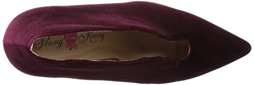 Penny Loves Kenny Women's MIFF Dress Pump, Wine, 9 M US by Penny Loves Kenny (Image #8)