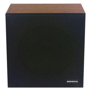 Bogen WBS8T725 4 W RMS Speaker - Black. WALL BAFFLE SPK/XFMR ASSY AV-ACC. 50 Hz to 12 kHz SNR - Wall Mountable by Bogen