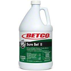 Betco Sure Bet ll Bathroom Cleaner - Gallons (4/cs)
