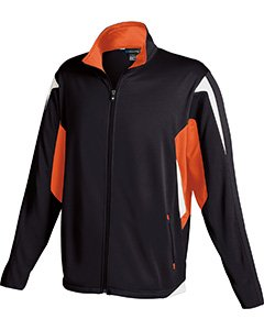 Holloway Youth Dedication Jacket , Black|Orange, medium by Holloway