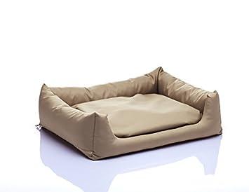POLa cama para perros con cojín Reversible Perro sofá Dormir Espacio con desenfundable tamaño: S 50 x 60 Color: Crudo nº 17: Amazon.es: Productos para ...