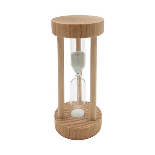 SUPVOX Temporizador de Reloj de Arena de Madera Temporizador de Movimiento 3 Minutos Decoracion para Oficina Casa Salón...