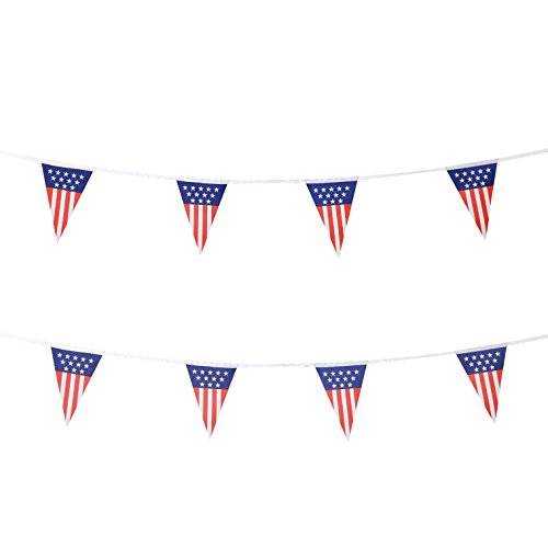 ag US Pennant Banners Flags,Party Decorations For Grand Opening,Bar,Carnival,World cup,Kids Birthday,Sports Events,International Festival,4th of July Celebration Events (Grand Opening Pennants)
