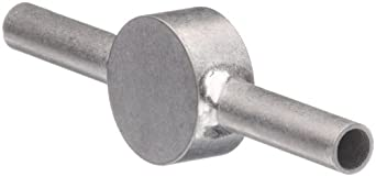 STC-09/2 Stainless Steel Hypodermic Tube Fitting, Coupler, 9 Gauge