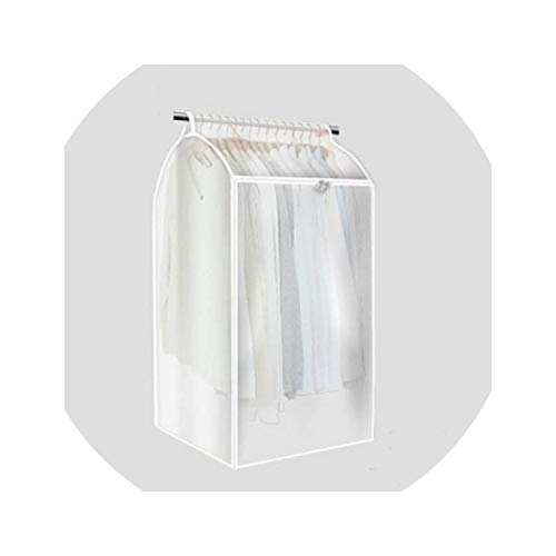 WBeauty Waterproof Clothing Bag Protect Your Clothes Green PVC Organizer Storage Bag,Translucent,95x 50 x 54