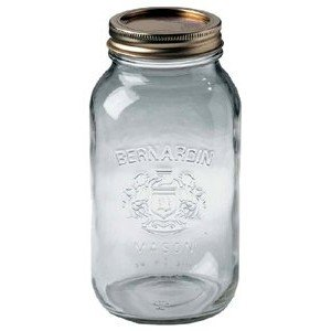 Amazon Com Bernardin Mason Jars 1 L Canning Jars