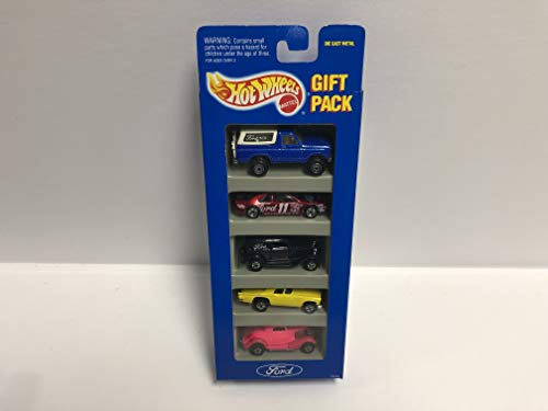 FORD 1993 Mattel Hot Wheels Gift Pack 12404 with Ford Bronco, Thunderbird, Coupe ()
