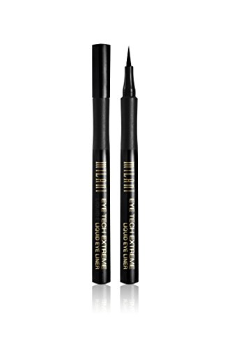 Milani Eye Tech Extreme Liquid Eye Liner  Blackest Black  033 Fl Oz  1Ml