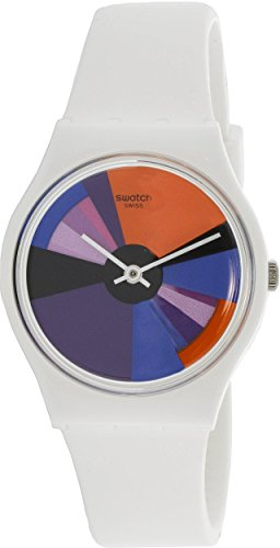 Swatch Originals Multicolored Dial Silicone Strap Unisex Watch GW709 (Strap Men Original Swatch)