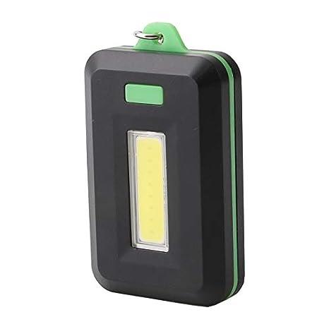 Linterna LED Sanyi COB de 3 modos, portátil, potente, con 2 ...
