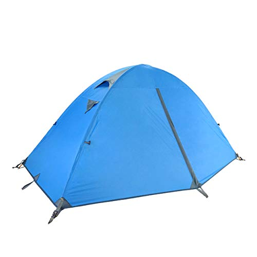 🥇 TRIWONDER Tienda de Campaña 1/2/3 Personas Impermeable Ligera 4 Estaciones Doble Capa Carpa para Acampar Playa Exterior Senderismo Viaje