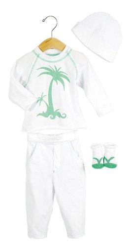Elegant Baby Tropical Fashion Set- 12 mos- Palm Tree