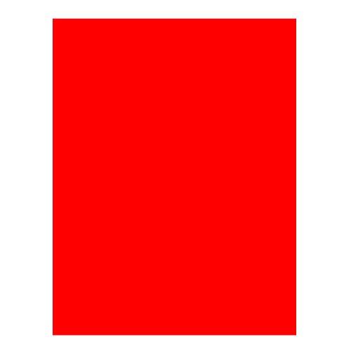 (CAMPUS University 630483–Card Stock, 200g, 25Pieces, 50x 65cm, Tomato)