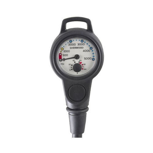 - Sherwood Pressure Gauge With Hose and Boot