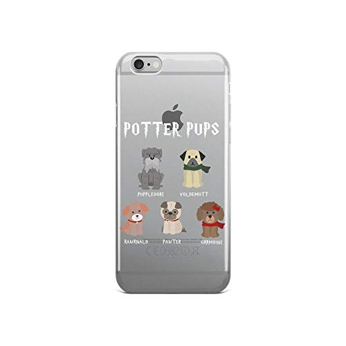 (iPhone 6/6s Pure Clear Case Cases Cover Women Harry Pawter Cute Puppy Dogs Potter Pups Gift)