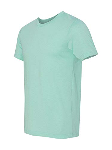 Bella+Canvas Unisex Jersey Short Sleeve Tee, Heather Mint, Small (New Jersey Mint)