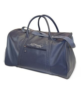 Ed Hardy Men s Weekend Holdall Duffle Bag Navy Blue  Amazon.co.uk  Clothing 06edbb25db4e5