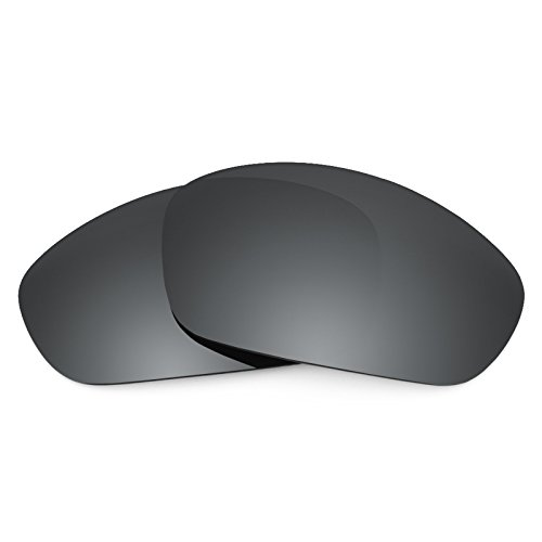 Revant Replacement Lenses for Oakley Straight Jacket (2007), Polarized, Black Chrome MirrorShield (Oakley Straight Jacket Lens)