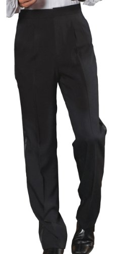 Edwards Garment Men's Tuxedo Pleated Traditional Polyester Pant