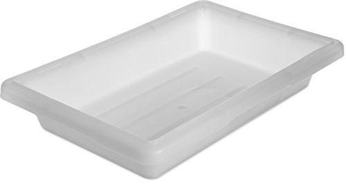 Carlisle 1063002 StorPlus Polyethylene Food Storage Box, 2 Gallon Capacity, White (Case of 6)
