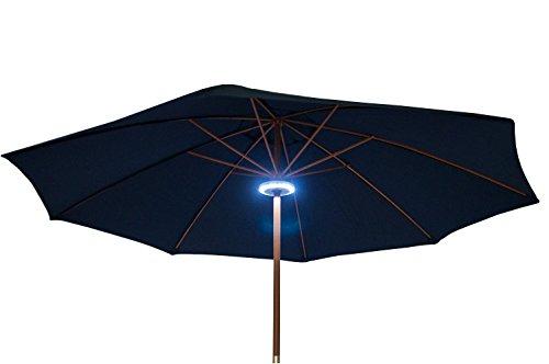 Sonnenschirmbeleuchtung 24 LEDs Sonnenschirmlampe Gartenlampe Gartenbeleuchtung