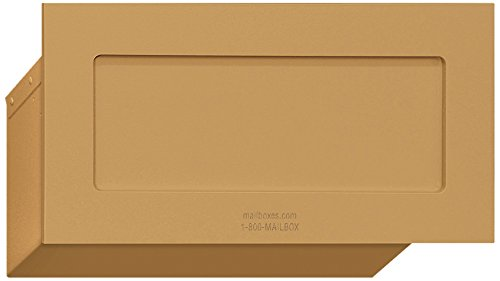 - Salsbury Industries 2255BRS Mail Drop, Brass