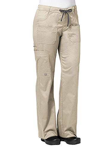 (Maevn Women's Utility Cargo Pants(Khakhi, Medium))