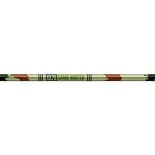 Xx75 Camo Hunter Shafts (Easton Camo Hunter XX75 Shafts 1916 Doz, Multi)