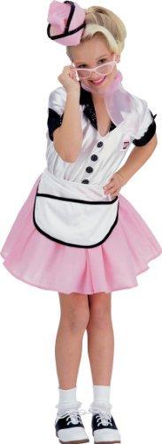 Soda Pop Girl Large 50s 50's Retro -