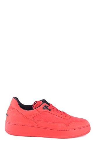 Hogan Sneakers Uomo MCBI148352O Camoscio Rosso