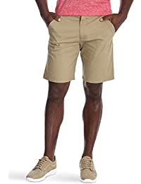 Authentics Men's Performance Comfort Waist Flex Flat Front Short