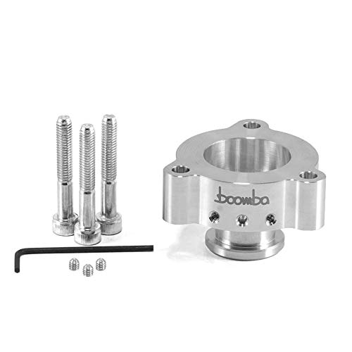 for 1.5//1.6 Ford Ecoboost Boomba Racing Silver 50//50 Blow Off Valve Adapter BOV