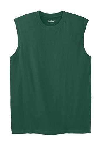 Lightweight Cotton Muscle Shirt, Hunter Tall-2Xl (Tee Muscle Sleeveless)