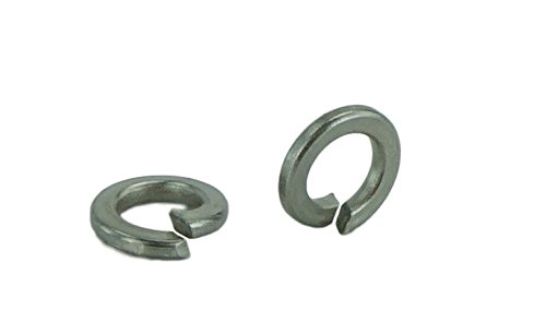 - Stainless #8 Split Lock Washer, Stainless Steel 18-8(100 pcs, 8 Lock Washer)