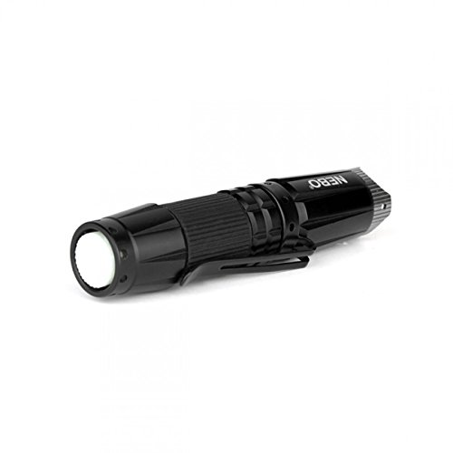 NEBO 90 Lumens Aluminum LED Flashlight with Strobe (1 AA Battery Included)