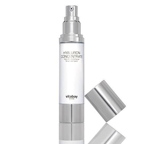 Hyaluronsäure-Konzentrat Gel 50 ml - 3fach Hyaluronkomplex, hochkonzentriert zur täglichen Anwendung