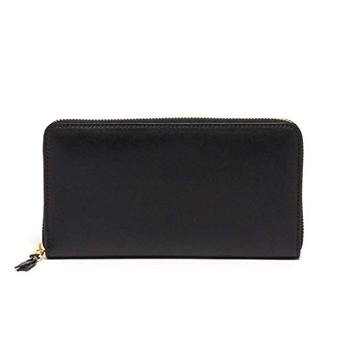 COMME des GARCONS 長財布 CLASSIC LETHER LINE WALLET SA0111 ユニセックス BLACK BK コムデギャルソン [並行輸入品] B07QY888B9