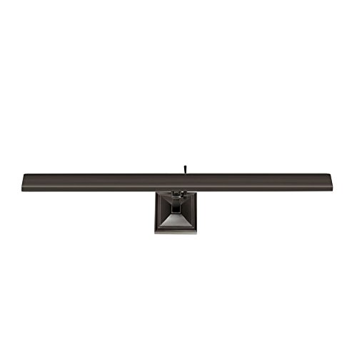 (WAC Lighting PL-LED24-27-AN 24in Rubbed Bronze Hemmingway LED Picture Light, Large, )