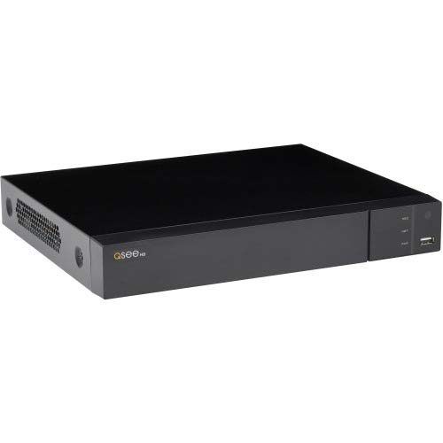 (Q-see QTH87-8 Channel 5MP Multi Format DVR with No Hard Drive - Digital Video Recorder - H.265, H.264+ Formats - 30 Fps - Composite Video in - Composite Video Out - 1 VGA Out - HDMI)