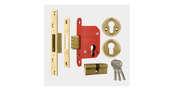replacement lock case only Euro Profile High Security Cylinder Deadlock