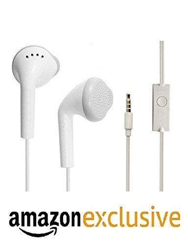 Brandkey Earphone for Samsung E2600 Listen Music with 3.5mm Jack | Calling Function |Compatible with All Andriod Smartph