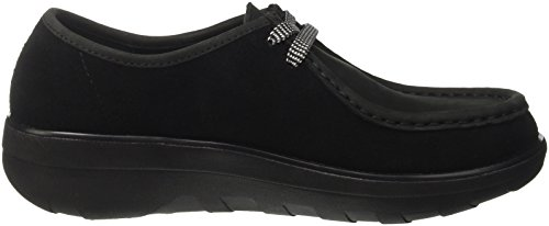 Fitflop Loaff TM Lace Up Moc, Sneaker a Collo Basso Donna nero