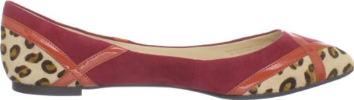 Enzo Angiolini Womens Seylia Flat Red Multi