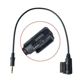 chenyang Medien in Ami MDI auf Stereo 3,5/ mm Audio AUX Adapter Kabel f/ür VW Audi 2014/ A4/ A6/ Q5/ Q7/ /& iPhone5/ iPad mini