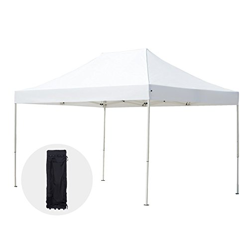 Abba Patio 10 x 15-Feet Outdoor Event Commercial Folding Canopy, White by Abba Patio